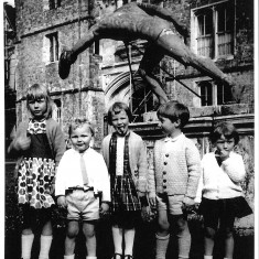 Fred Piercy's children remember visiting Knole's Green Court during many summers in the 1960s and 70s.