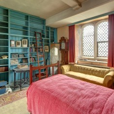 Mr Mason's flat, previously Eddy Sackville-West's room in the Gatehouse Tower | Photo by John Miller