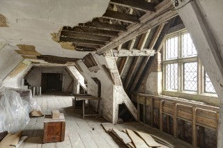 The South Barracks, one of Knole's attic spaces, with more stories to tell visitors from 2019
