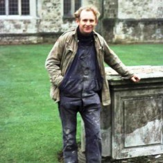 Cyril Haysom in October 1976   Photo from Martin Drury
