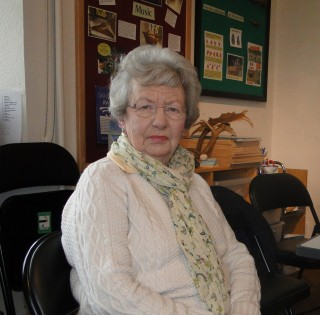 Eve Tucker, Knole volunteer since 1987