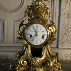 French ormolu clock