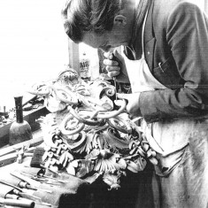 Bill Manning at work in 1965