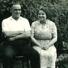 Bill and Flo Shirley were keepers of Plymouth Lodge for the Sackvilles, late 1950s to July 1968 | Photo © Jacquie Elphick & Linda Grimwood