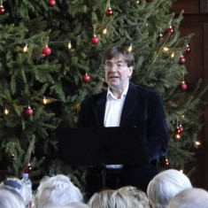 Lord Sackville, at the Knole Christmas Lecture