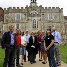 The Knole Project Team in 2012
