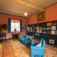 The Music Room where Eddy Sackville-West played the piano for Eileen to rehearse her dance