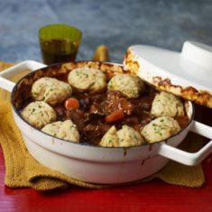 Dumplings in casserole