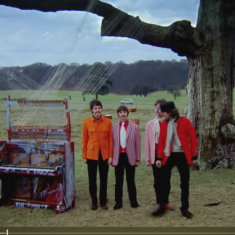Fresh from their World Tour, the Beatles used Knole Park as the setting for Strawberry Fields Forever and Penny Lane