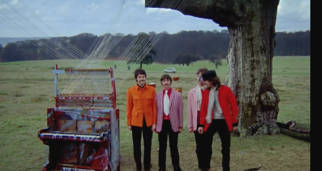 The Beatles at Knole