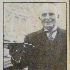 Lord Sackville's butler, Bill Hughes had a memorable conversation with John Lennon