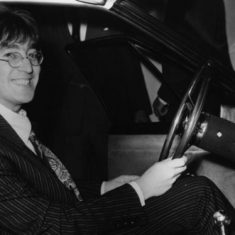 John Lennon gave Lord Sackville's daughters a ride in his Rolls Royce