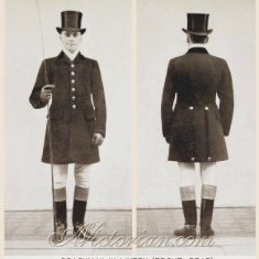 Thomas Pattenden's uniform - with its smart red waistcoat and cockaded top hat - might have looked similar to Edwardian livery for coachmen