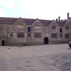 A view of the Hayloft and former stables at Knole