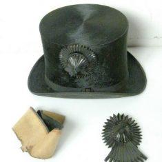 Examples of top hat cockades