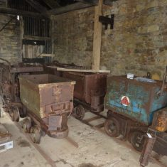 Tim has conserved Victorian mining equipment at Force Crag in Cumbria