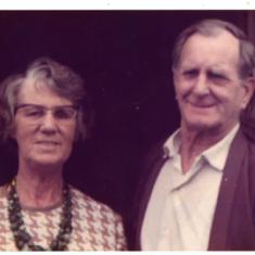 (L) Audrey's mother, Kathleen Violet Stillman