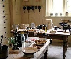 Still Rooms such as at Cragside House give a sense of maids' skills and duties